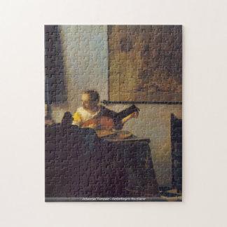 Johannes Vermeer - selon le puzzle de joueur