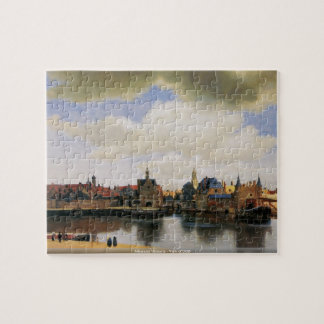Johannes Vermeer - vue de puzzle de Delft