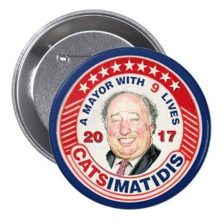 John Catsimatidis pour le maire 2017 de NYC Badges