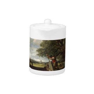 John Constable - la serrure - paysage de campagne