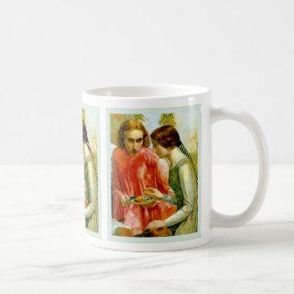 ~ John Everett Millais de Lorenzo et d'Isabelle Mug Blanc
