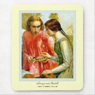 ~ John Everett Millais de Lorenzo et d'Isabelle Tapis De Souris