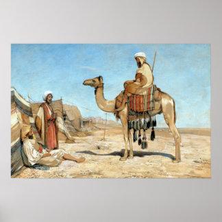 John Frederick Lewis un campement bédouin Poster