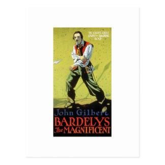 John Gilbert dans Bardelys la tasse magnifique Cartes Postales