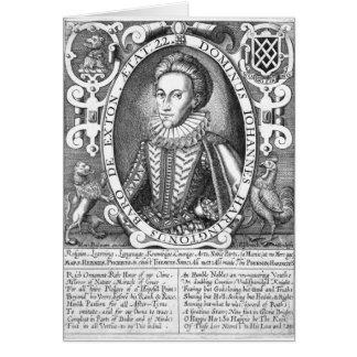 John Harington, 2ème baron Harington d'Exton Carte De Vœux