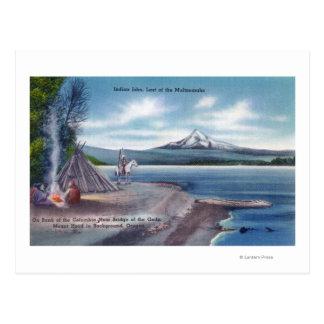 John le bout du Multnomahs Carte Postale