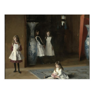 John Sargent- les filles d'Edouard Darley Boit Carte Postale