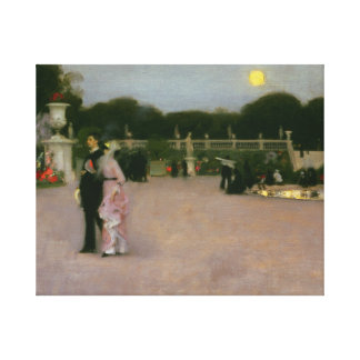 John Singer Sargent - dans les jardins du Toile