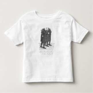 John Wesley marchant à Edimbourg entre James T-shirt Pour Les Tous Petits