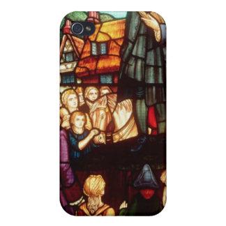John Wesley prêchant les évangiles en Angleterre Coques iPhone 4