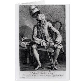 John Wilkes 1763 Carte De Vœux