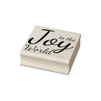 Joie au timbre en bois du monde