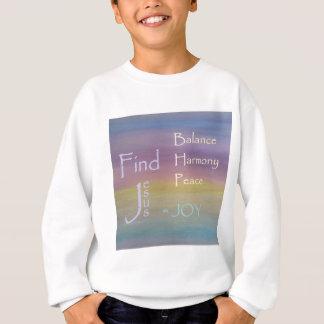JOIE de paix d'harmonie d'équilibre… Sweatshirt