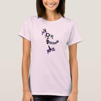 Joie de yoga t-shirt
