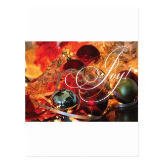 JOIE magnifique de carte de Noël !
