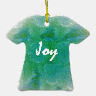 Joie Ornement T-shirt En Céramique