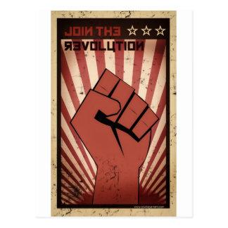 Joignez la révolution carte postale