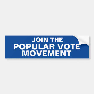 JOIGNEZ le bumpersticker de MOUVEMENT de VOTE Autocollant De Voiture