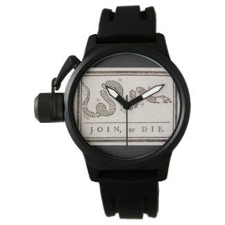 Joignez ou mourez montre montres bracelet