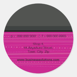 JOINT D'AUTOCOLLANT : : 6 linéaires Sticker Rond