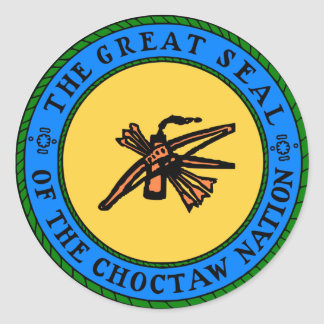 Joint de Choctaw Sticker Rond