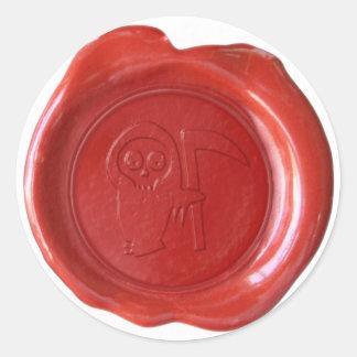 Joint de cire de Faux - rouge - FAUCHEUSE Adhésifs Ronds