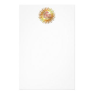 Joint de jésuite papier à lettre personnalisable