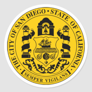 Joint de San Diego Sticker Rond
