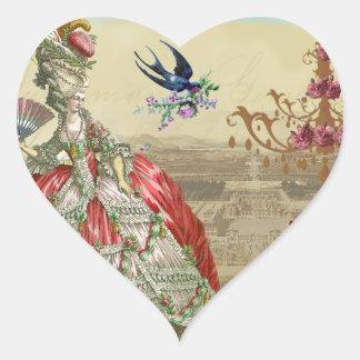 Joint d'enveloppe des souvenirs De Versailles Sticker Cœur
