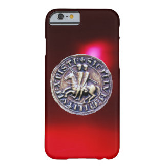 JOINT du rouge Bourgogne des CHEVALIERS TEMPLAR Coque Barely There iPhone 6