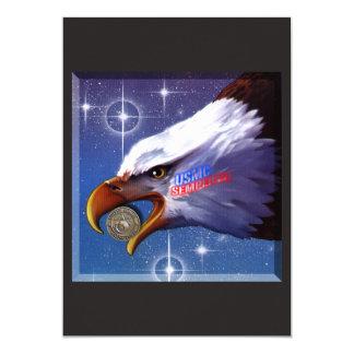 Joint d'usmc et carte personnalisable d'Eagle !
