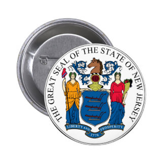 Joint et devise d'état de New Jersey Badges