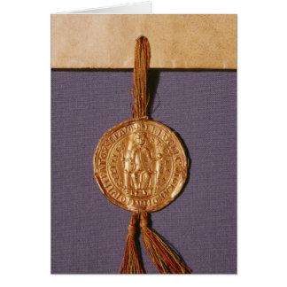 Joint impérial de Frederick II du Carte De Vœux