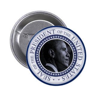 Joint présidentiel de Barack Obama Badge Rond 5 Cm