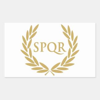 Joint romain de sénat de Rome SPQR Sticker Rectangulaire