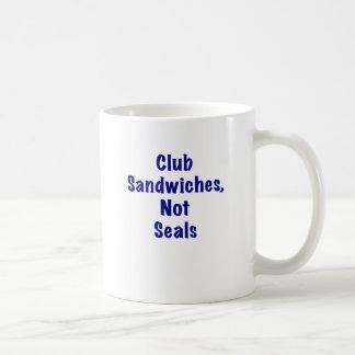 Joints de sandwichs à club pas mug
