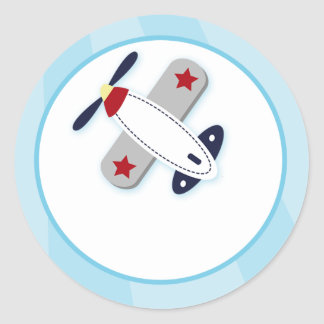 Joints d'enveloppe d'avion d'aviateur/hauts de sticker rond