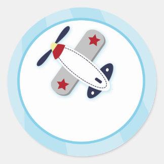 Joints d'enveloppe d'avion d'aviateur/hauts de sticker rond