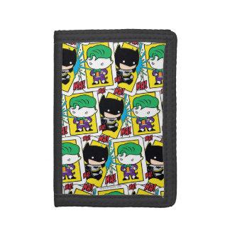 Joker de Chibi et motif de carte de jeu de Batman