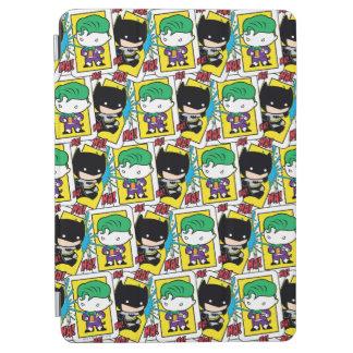 Joker de Chibi et motif de carte de jeu de Batman Protection iPad Air