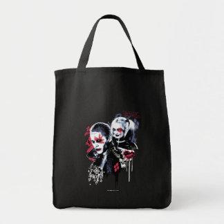 Joker du peloton | de suicide et graffiti peint sac de toile