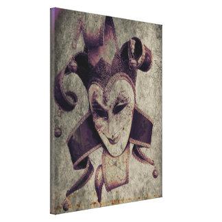 Joker mauvais de clown de la Renaissance gothique Toiles