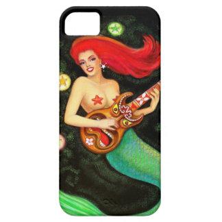 Joli cas de l'iPhone 5 de musique de Tiki de sirèn Coque Case-Mate iPhone 5