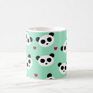 Joli motif de panda mug
