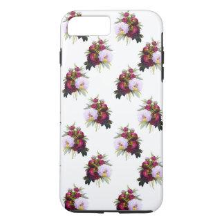 Joli motif de pivoines coque iPhone 7 plus