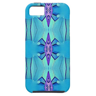 Joli motif Girly lilas bleu azuré Coques iPhone 5 Case-Mate