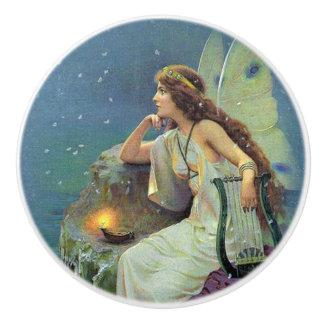 Joli océan féerique vintage de bougie d'harpe de