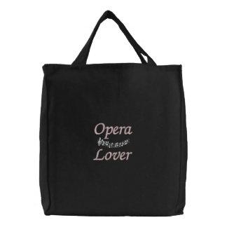 Joli sac fourre-tout à amant d'opéra sac brodé