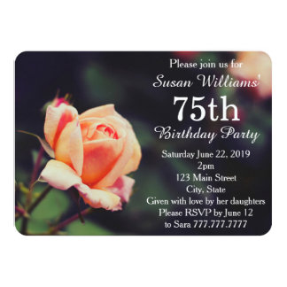 Joli s'est levée la soixante-quinzième invitation