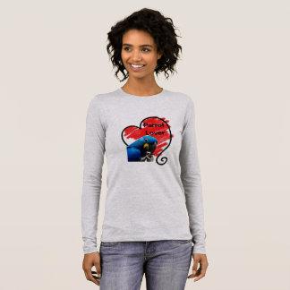 Joli T-shirt de douille du perroquet II de
